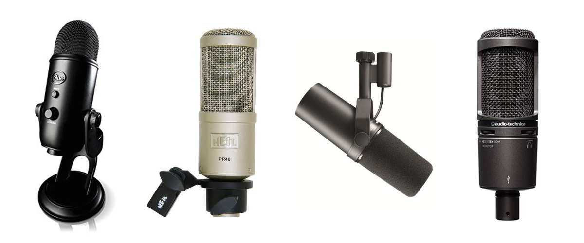 The Best and Most Recommended Microphone for Vocals List